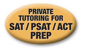 SAT/PSAT/ACT BUTTONS