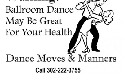 ADD Warning dance may be great for your health.pages