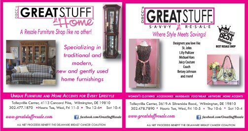 Women's Journal_Great Stuff Home and Savvy Resale Ad_January_201