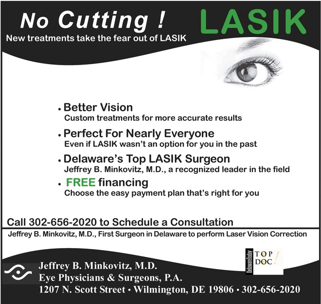 LASIK 18 in.spot color News Journal with finance