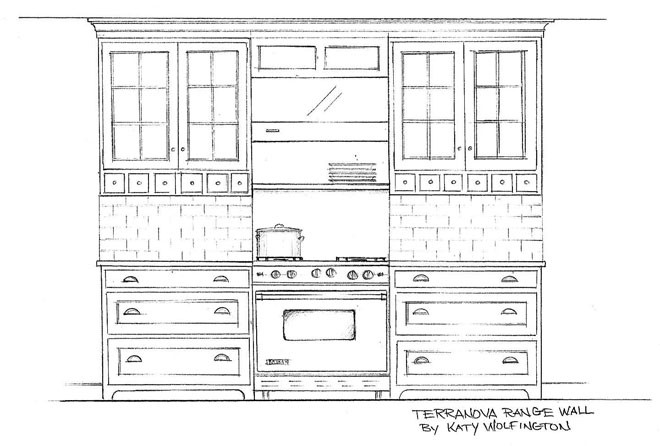Waterbury Kitchen_Drawing
