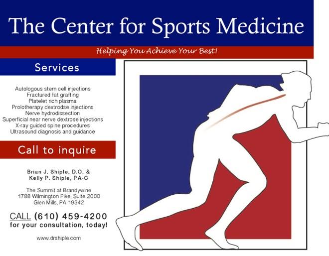 Sports Medicine Ad