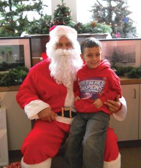 Santa and Vincent