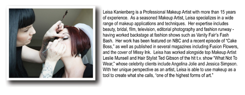Leisa Kanienberg Mini-Ad Bio Highlight