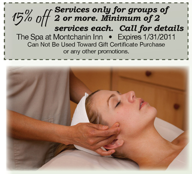 Come Celebrate With The Spa at Montchanin