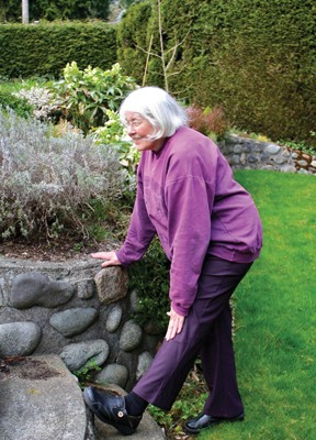 Pull Your Weeds, Not Your Back, When Gardening, The Women's Journal