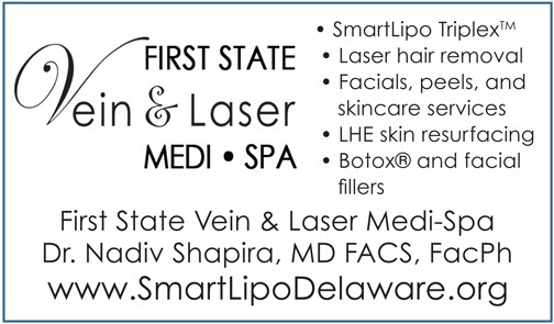 First State Vein & Laser Medi-Spa: First in DE with SmartLipo TriplexTM, The Women's Journal