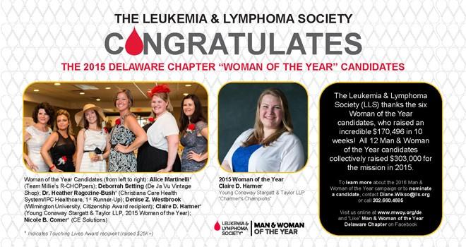LLS Congratulates, The Women's Journal