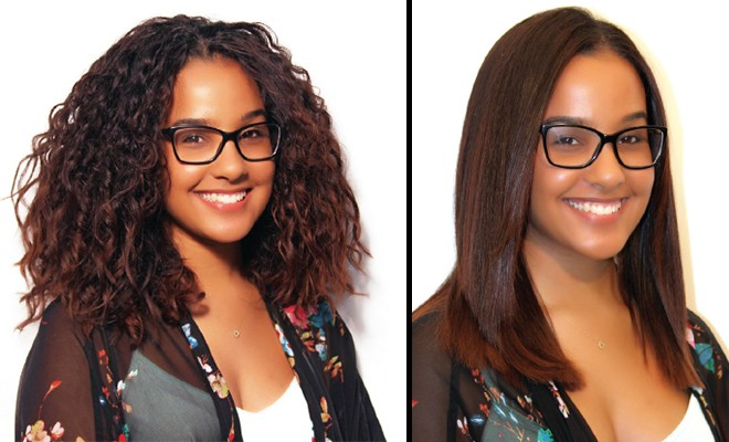 Curl Vs. Smooth: How are you going to deal with your summertime hair challenges?