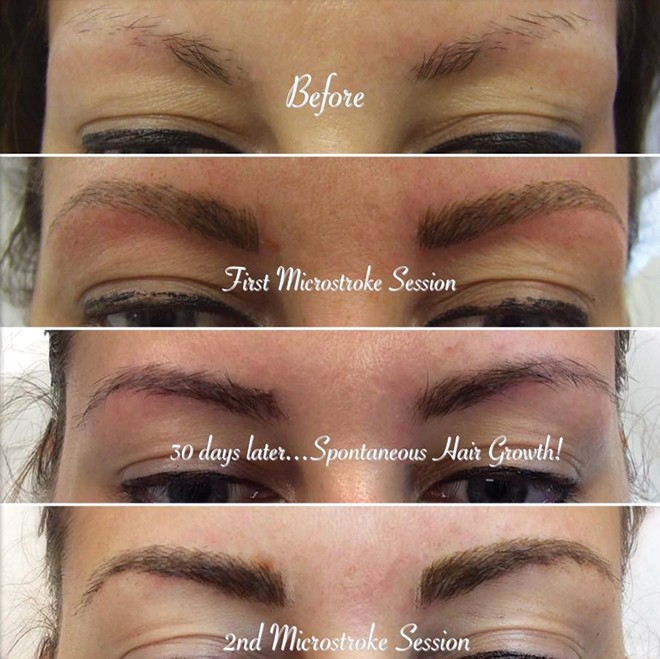 Microblading Vs. Shaded Brow?