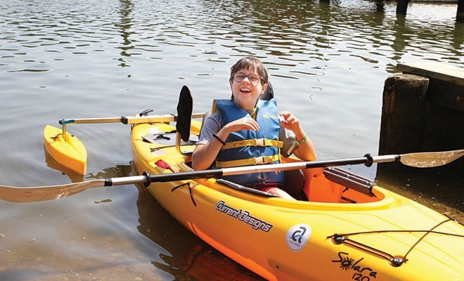 New Found Freedom, Thanks To Easterseals Camp Fairlee