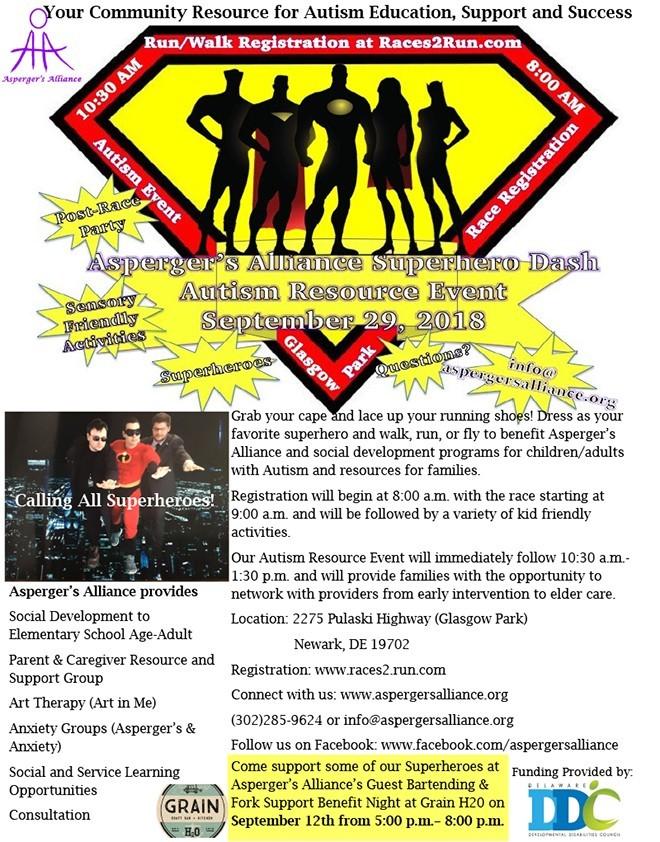 Aspergers Alliance 3qt18