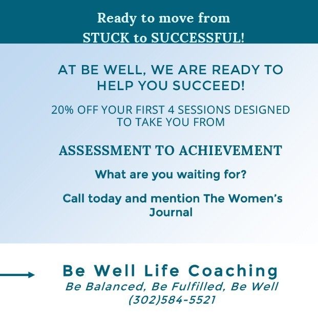 Be Well Life Coaching ad 4qt18