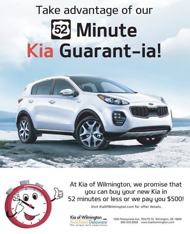 52 Minute Kia Guarant-ia