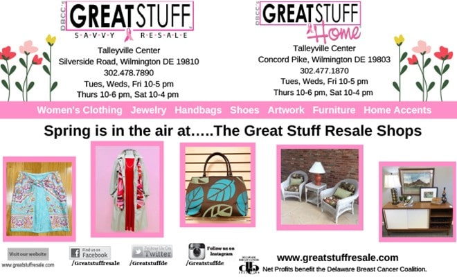 Spring Is In The Air . . . At Great Stuff!, The Women's Journal