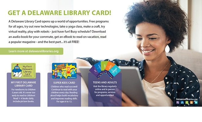 Get A Library Card!