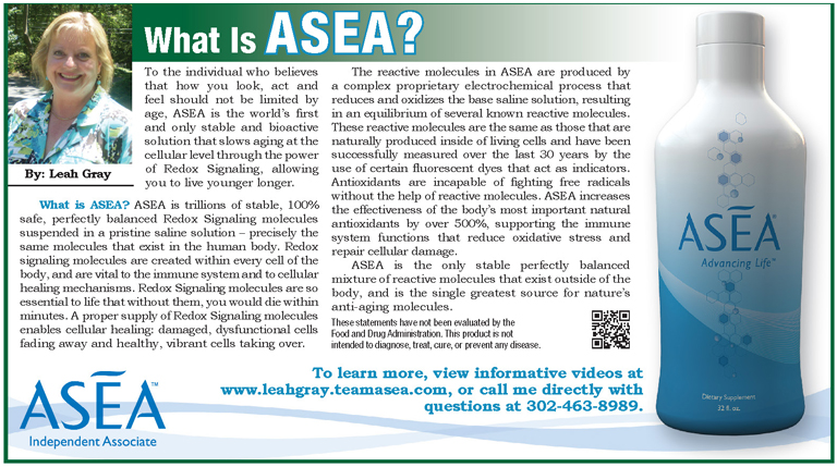 What Is ASEA?, The Women's Journal