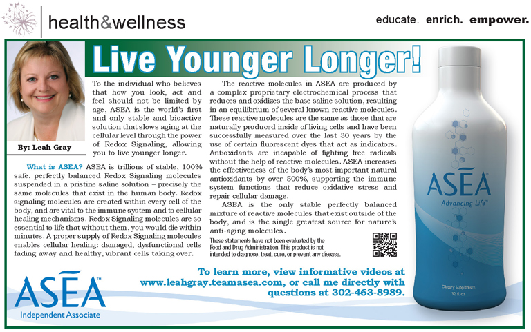 Asea – Live Younger Longer!