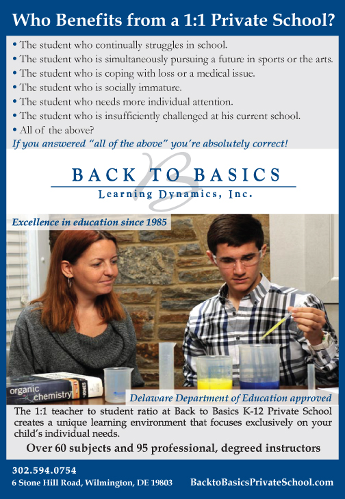 Does Your Child Need More? Back to Basics K-12 Private School offers a revolutionary difference… An unprecedented 1:1 student to teacher ratio, The Women's Journal