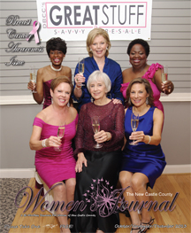 Breast Cancer Awareness Women In Profile, The Women's Journal