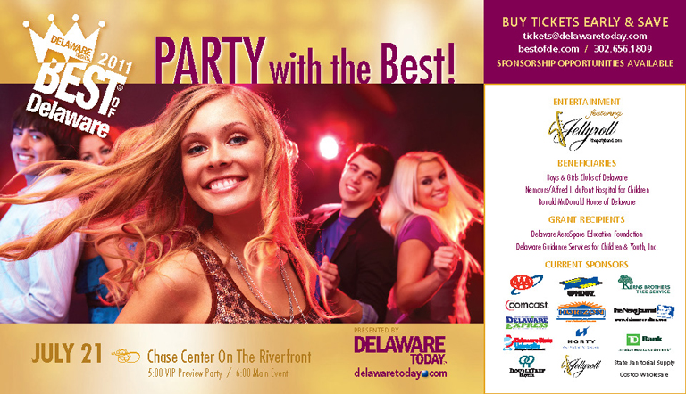 Party with the Best! Chase Center on the Riverfront – July 21