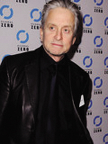 Michael Douglas Supports Oral Cancer Awareness