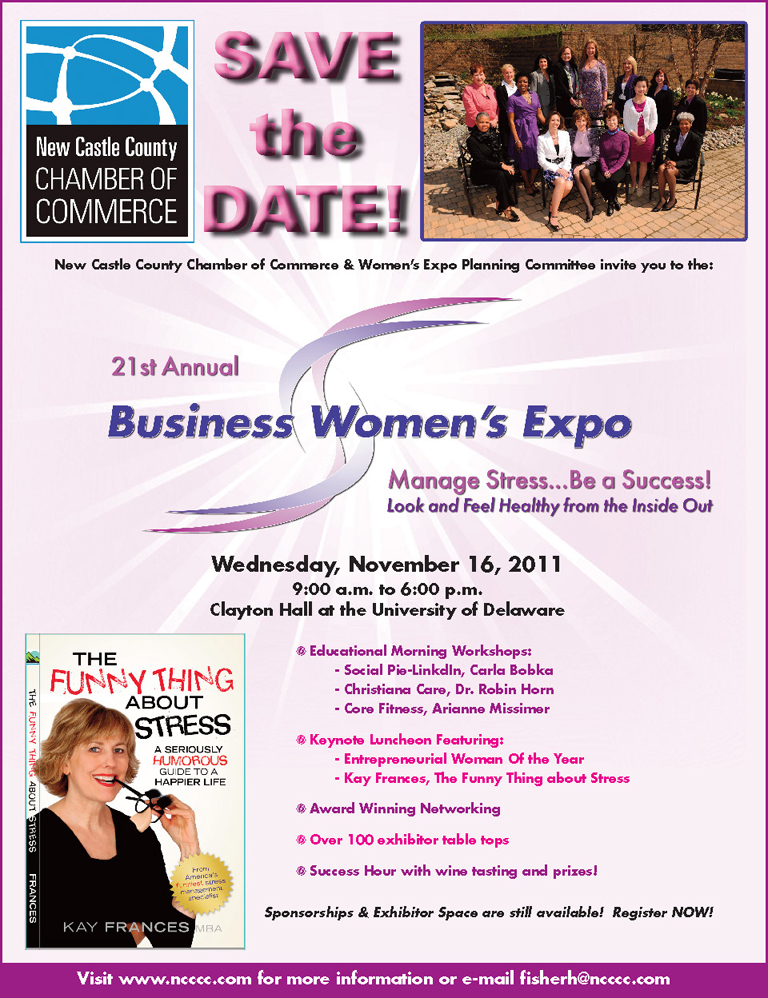 Save the Date! 21st Annual Business Women's Expo