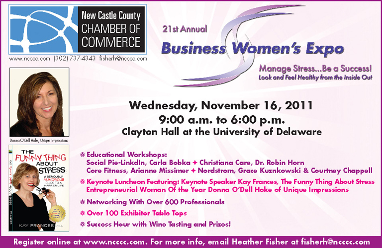 21st Annual Business Women's Expo – Manage Stress…Be a Success!