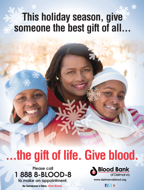Give The Gift Of Life This Holiday Season