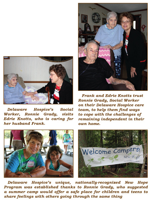 Ronnie Grady Has Cared For Delaware Hospice's Patients & Families For 26 Years!, The Women's Journal