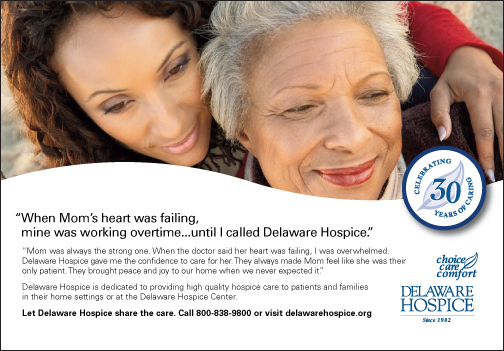 Delaware Hospice Marks Its 30 Year Anniversary