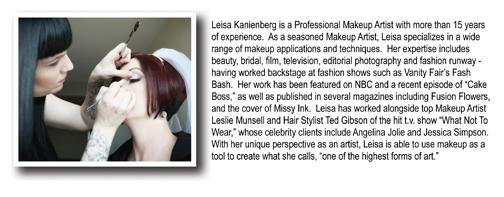 Leisa Kanienberg Mini-Ad Bio Highlight