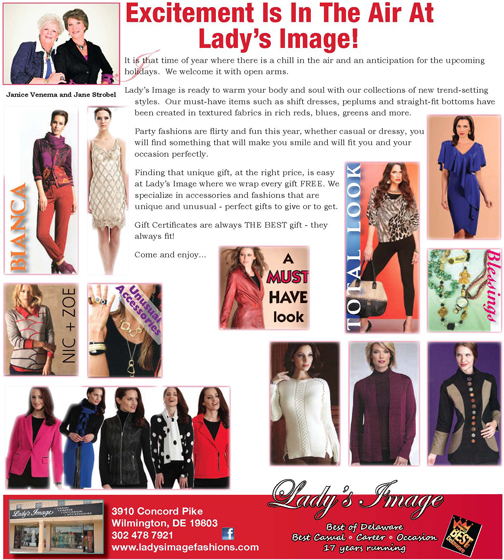 Excitement Is In The Air At Lady's Image!, The Women's Journal