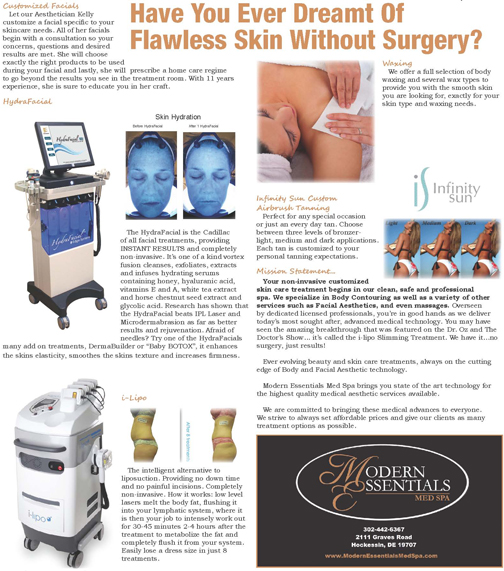 Have You Ever Dreamt Of Flawless Skin Without Surgery?, The Women's Journal