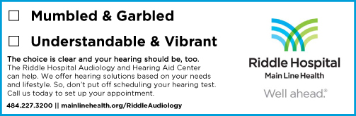 Your Hearing: Use It or Lose It